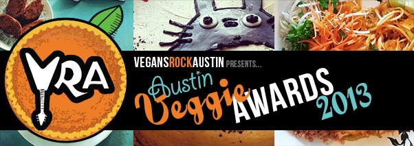 Austin Veggie Awards 2013 Header