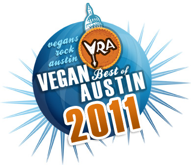 Vegan Best of Austin 2011 logo